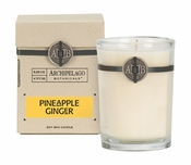 Archipelago Botanicals Pineapple Ginger Signature Series Candle