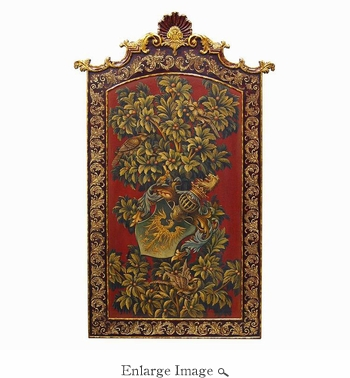 Wall Panel, Wood, Heraldry Collection