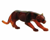 Daum Crystal Amber Panther - Guaranteed Lowest Price