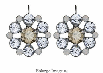 LK Jewelry Cluster Earrings