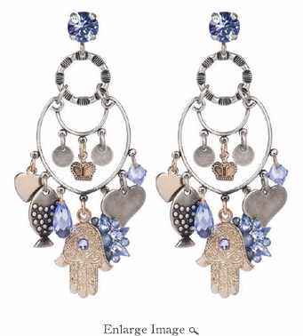 LK Jewelry Hamasa Earrings