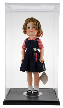 "ExpoCase™ Plastic Doll Display Case 11""x11""x19"""