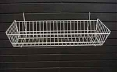 24in.W x 10in.D x 5in.H All-Purpose Double Sloping Basket