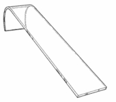 Acrylic Narrow Watch Ramp