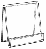 Acrylic Sign Easels