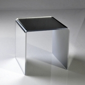 Acrylic Mirrored Risers