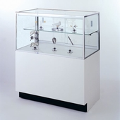 60in. Half Vision Jewelry Display Case