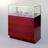 48in. Quarter Vision Jewelry Display Case