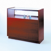 36in. Quarter Vision Jewelry Display Case