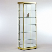 Stretched Hexagonal Tower Display Case