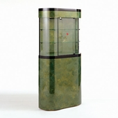 6 Square Foot Curved Wall Display Case