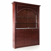 Rectangular 76in. Wide Wall Display Case