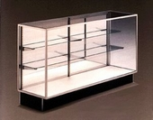 Extra Vision Display Case with Mirror Doors