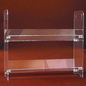 Acrylic Clip-together Two & Three Shelf Units