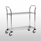 NSF Heavy Duty Steel Utility Cart