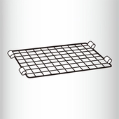 Back Ledge for Wire Shelving Units Box of 4