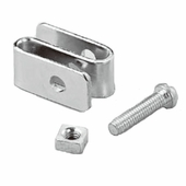 NSF Shelf Connector Chrome Box of 1000