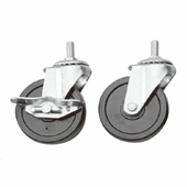 3in. PVC Casters Set of 4