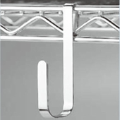Large Snap-On Utility Hook for NSF Wire Shelving Box of 300