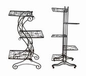 PGM Metal Display Racks