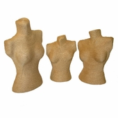 Wall Plaque Set of 3 Paper Twine Finish