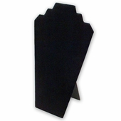 Black Velvet Necklace Pad With Easel