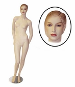 Female Mannequin w/Arms Back