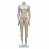 Female Headless Mannequin With Straight Legs and Arms