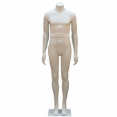 Male Headless Mannequin With Straight Legs and Arms
