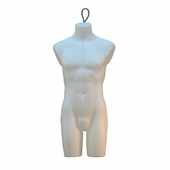 Male Torso Form With Wire Loop