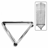 Gridwall Triangle Base w/Casters