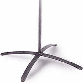 """Aaron Contemporary 4 Leg Base with Long 7/8"""" Stem"""
