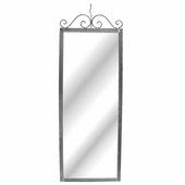 Aaron Contemporary Hanging Wall Mirror