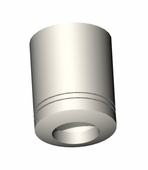 Tube System Amato Ceiling Support