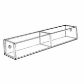 Acrylic 7-1/2in. Compartment Standard Tray