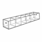 Acrylic 2-1/2in. Compartment Standard Tray
