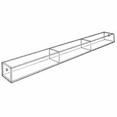 Acrylic 7-1/4in. Compartment Wide Tray