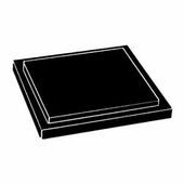 Black Square Acrylic Base for Box Cases