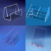 Acrylic Business Card, Post Card Holders