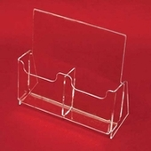 Acrylic Multi-Pocket Brochure Holders with Removable Dividers