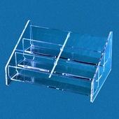 Acrylic Countertop Multiple Business Card Holder