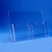 Acrylic 8-1/2in. x 11in. Brochure Holders with Removable Divider