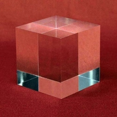 Large Acrylic Blocks - 1in., 1-1/2in., and 2in. thick