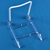 Acrylic / Wire-Back Adjustable Folding Easels (Dozen)