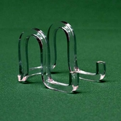 Acrylic Open-Front Ribbon Easels