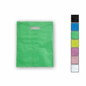 12in. x 15in. Die Cut Handle Frosted Shopping Bags