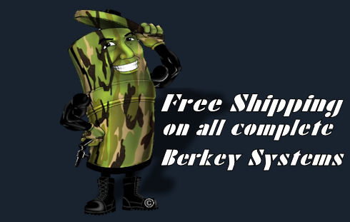 Berkey gravity water filters