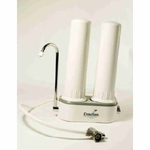 Doulton Twin HCP  CounterTop  Water Filter with 1 Ultracarb & 1 Fluoride Filter