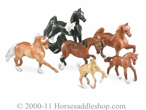 Breyer Pony Gals Micro Mini Horse Sets 7202