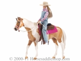 Breyer My Favorite Horse Let's Go Riding Western Set 1410